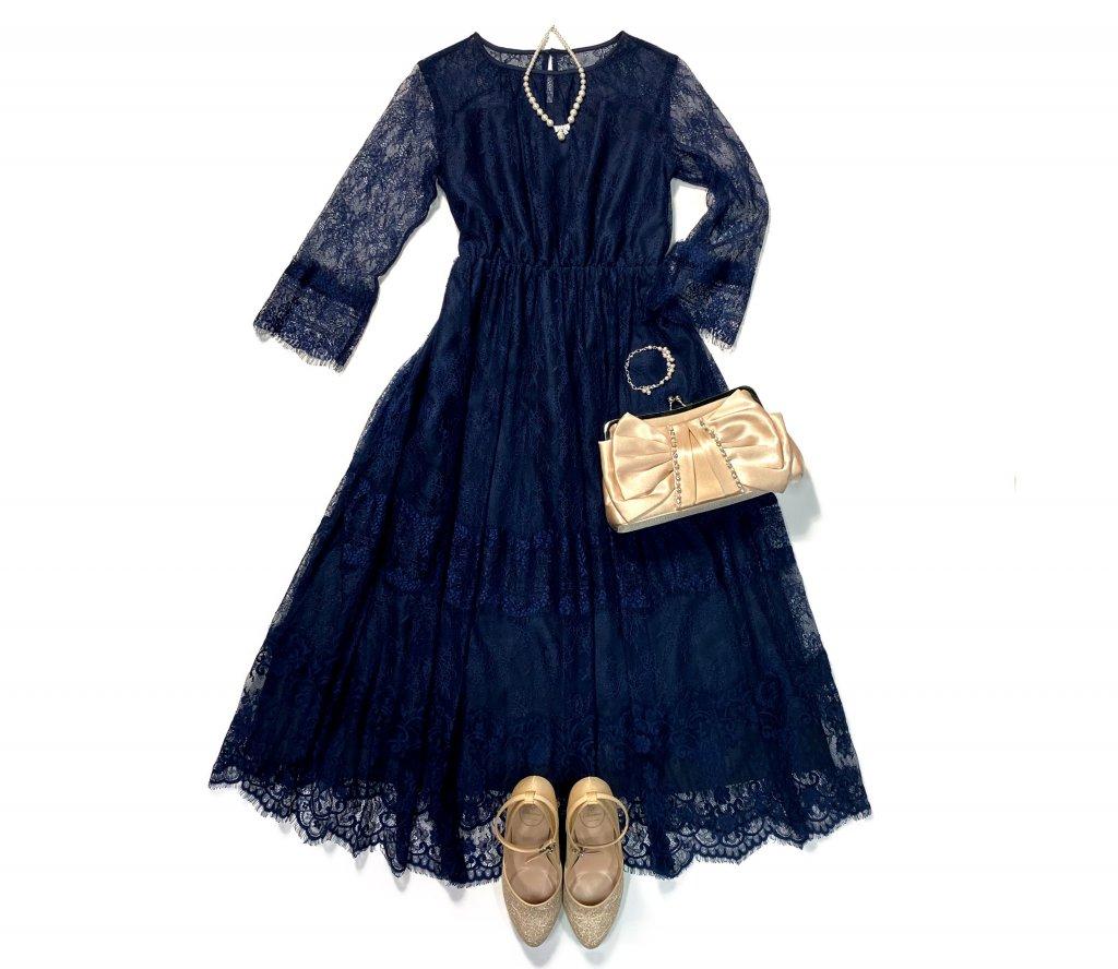 エレガントなドレス