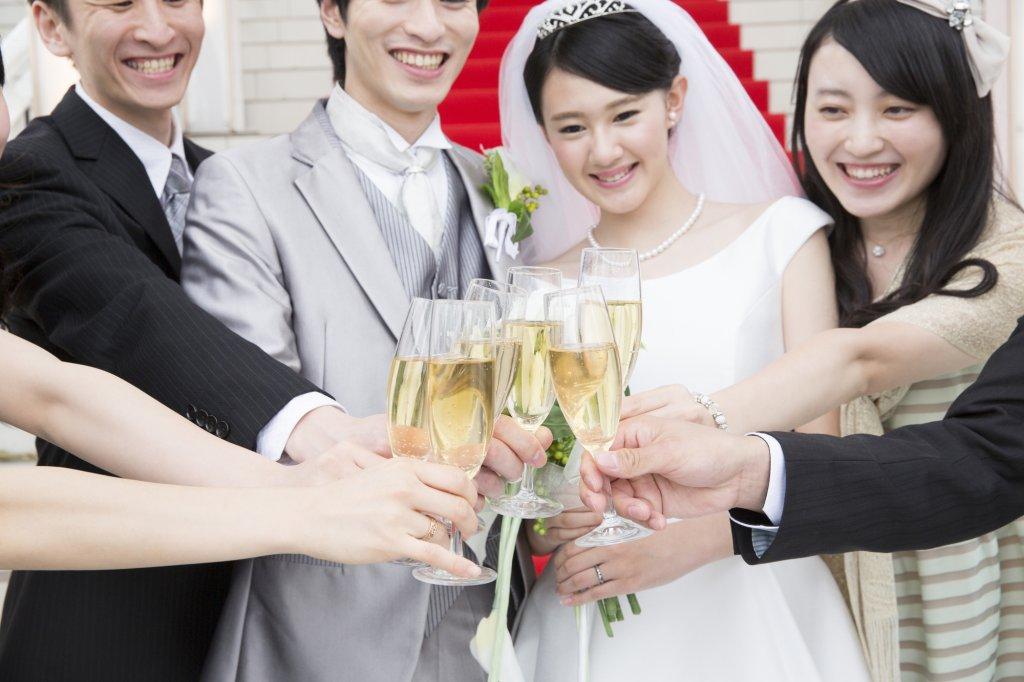友人 結婚式