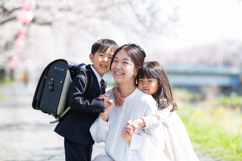 親子 入学式