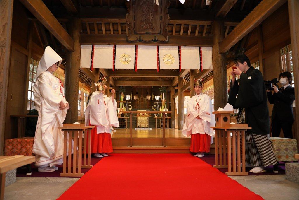 うつくしの杜 射水神社での挙式