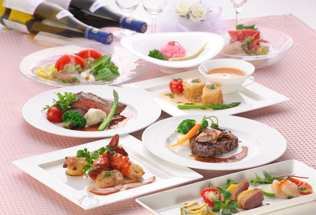 うつくしの杜 射水神社の婚礼料理