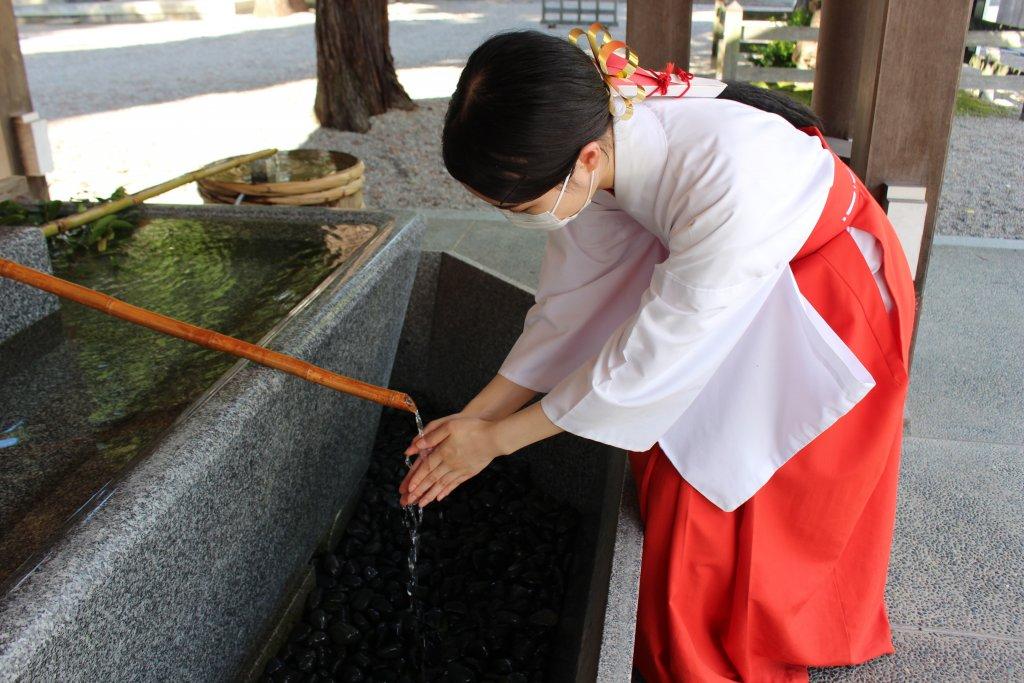 うつくしの杜 射水神社の新型コロナウィルス感染症対策
