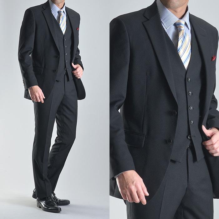 スーツスタイルMARUTOMI スリーピーススーツ メンズ