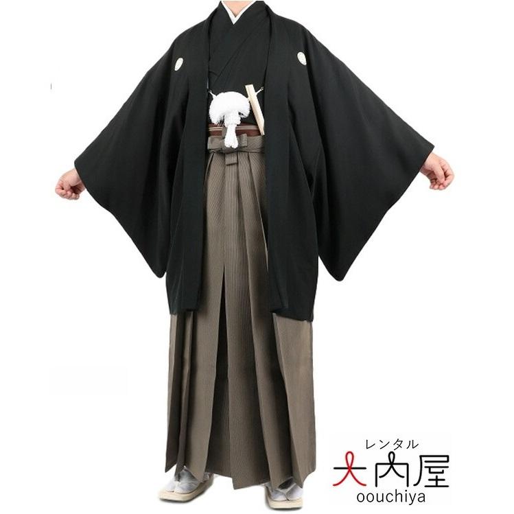紋付羽織袴 レンタル大内屋