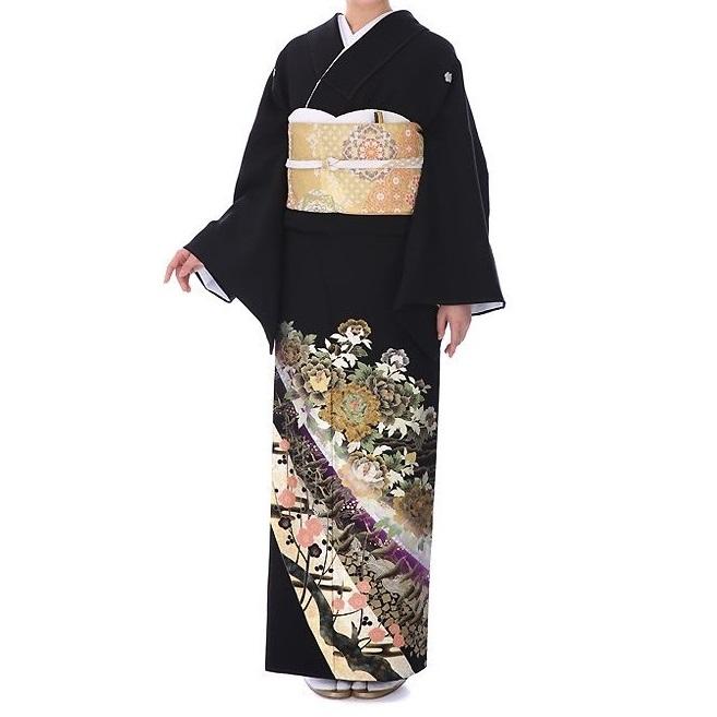 レンタル衣裳 マイセレクト 黒留袖 桂由美