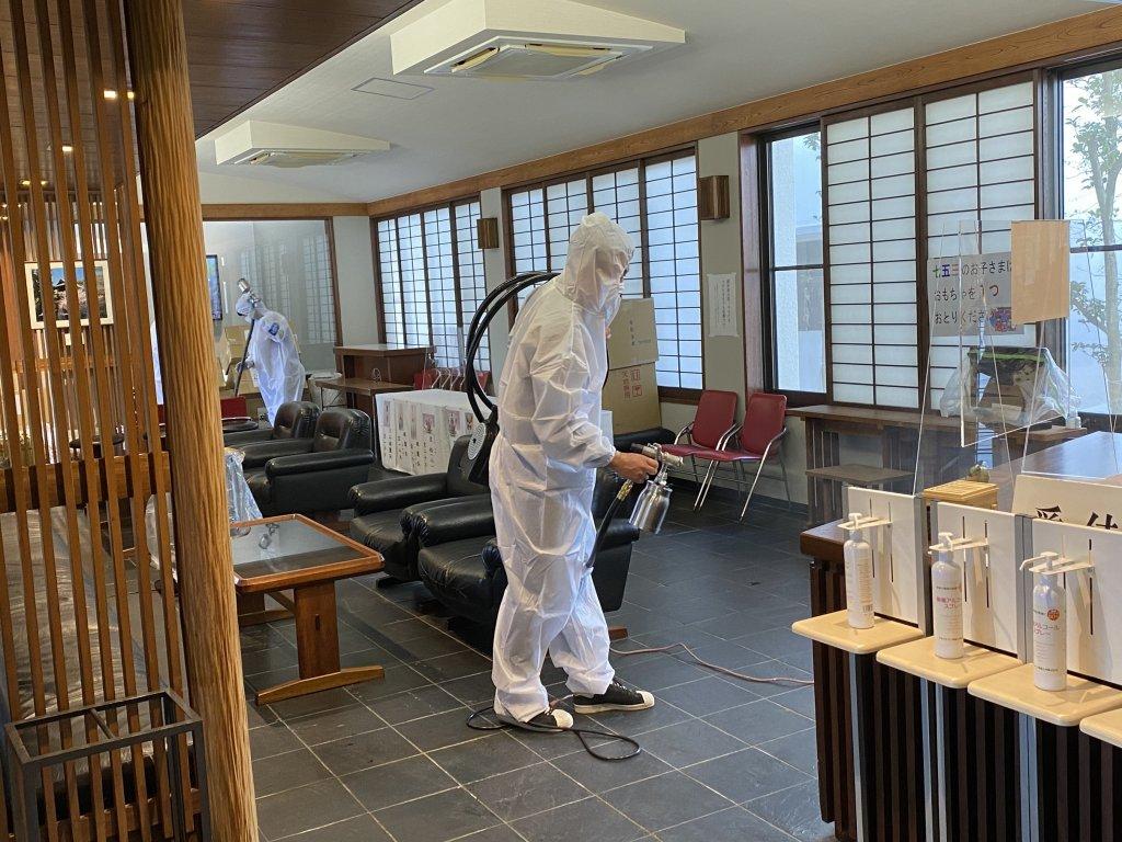 石清尾八幡宮の新型コロナウイルス感染症対策